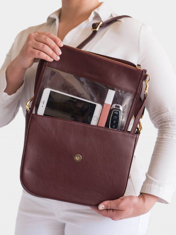 armadillo-leather-handbags-totes-wallets-clutches-backpack-small-leather-goods-accessories-office-travel-gifts-in-canada-nona-burgundy-dark-red-wine-cognac-crossbody-clear-clutch-set