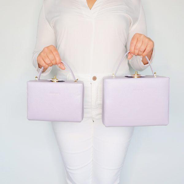 briefcase_box_bag_light_grey_mint_LILAC_grace_kelly_