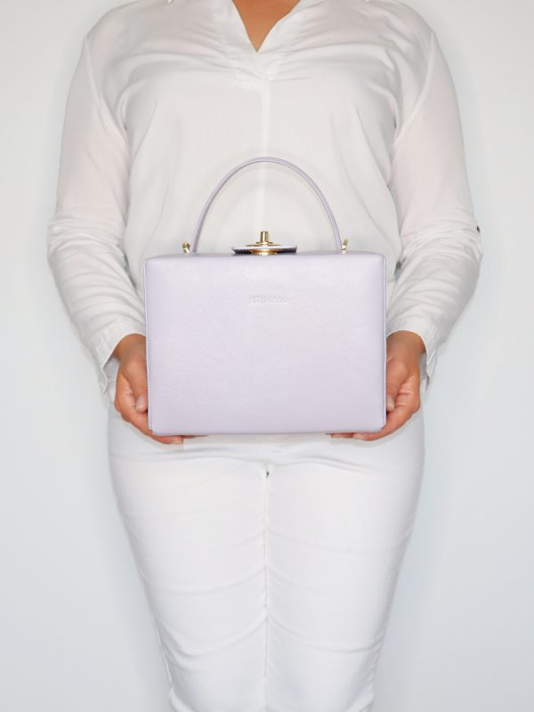 briefcase_box_bag_light_grey_mint_LILAC_grace_kelly_2