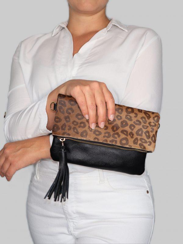 Animal_Print_Clutch_Cheetah_leather_tassel_03
