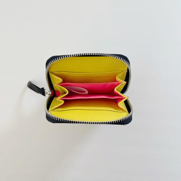 Card_Wallet_leather_Zip_Wallet_Squared_leather_wallet_yellow_fuchsia